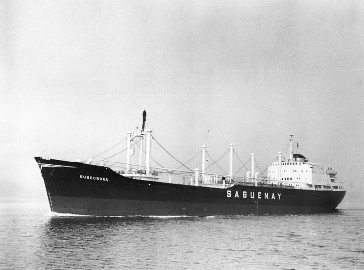 Provtur av fartyg 175 M/S Suncorona.