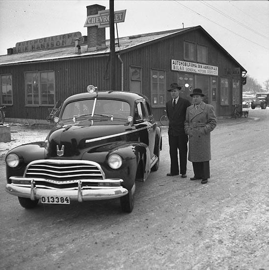 "Enligt notering: ""Polisbilen 30/1 1947""."