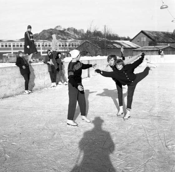 Konståkning, Walkeskroken i Uddevalla, 15 februari 1959.