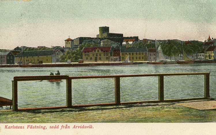 Karlstens Fästning, sedd från Arvidsvik.