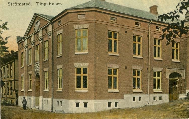 Strömstad. Tingshuset.