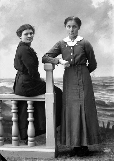 """Enligt fotografens journal nr 2 1909-1915: """"Andersson, Karin Furufjäll Här""""."""