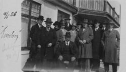 Besökare på Tureborg 1926