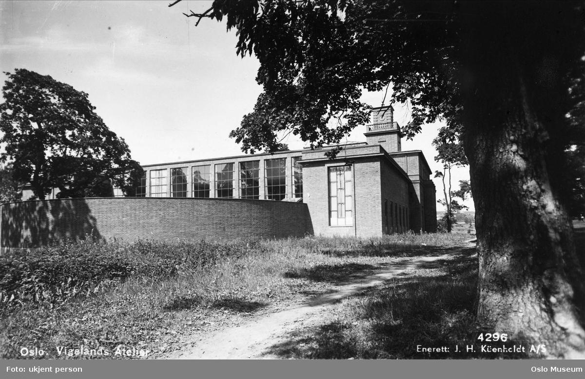 Vigeland-museet, park