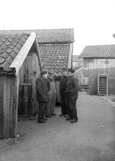 1924. Fiskegubbar.