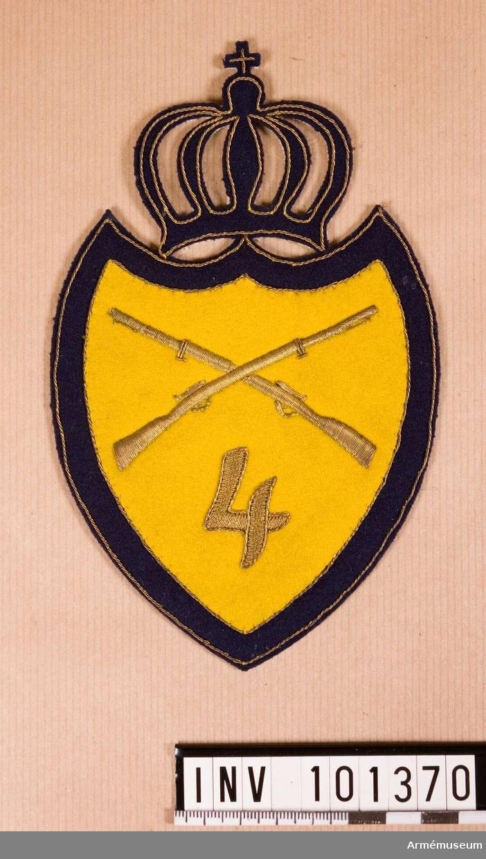Truppslagstecken m/1906