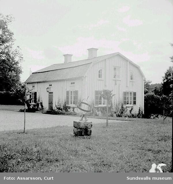 S.a flygelbyggnaden till Sörfors nedbrunna herrgård.