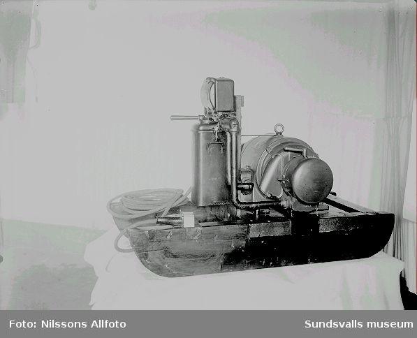 Bild på en maskin.