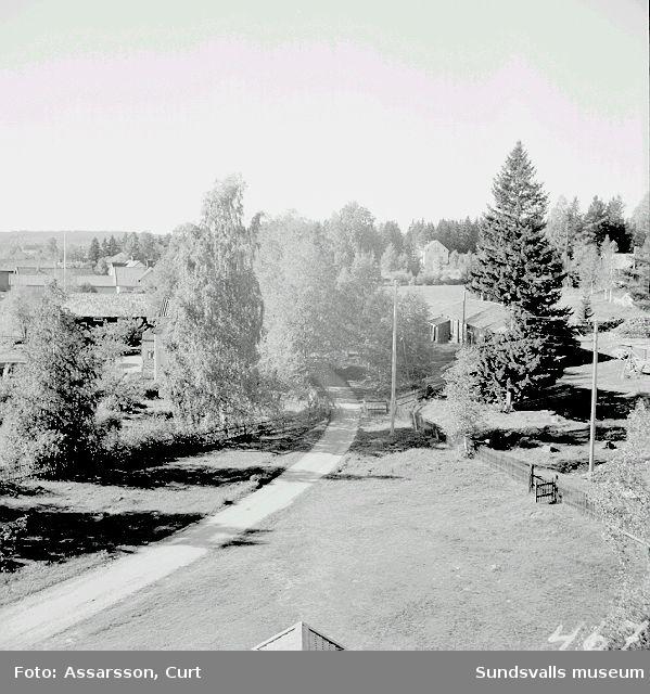 Kungsnäs by, Selånger sedd från kyrktornet.