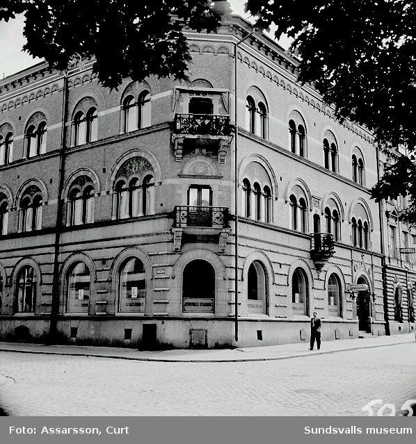 Sparbanken i Sundsvall.
