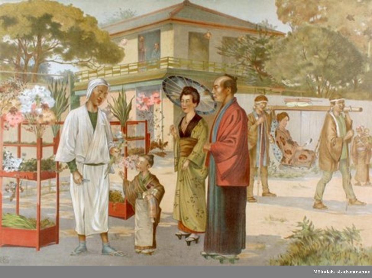 Folklivsbilder.Japaner.