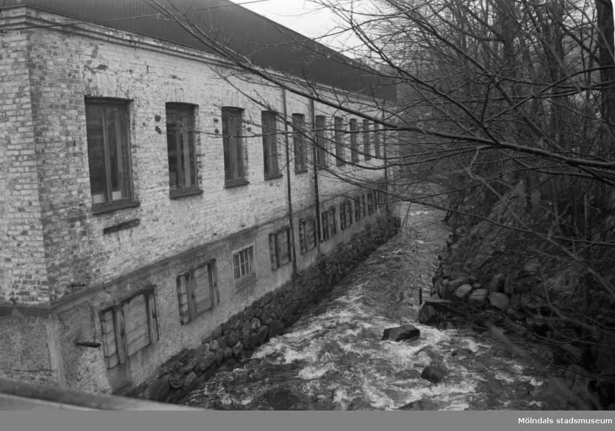 Kvarnfallet 31 i Mölndal, Carlsfors fabrik.