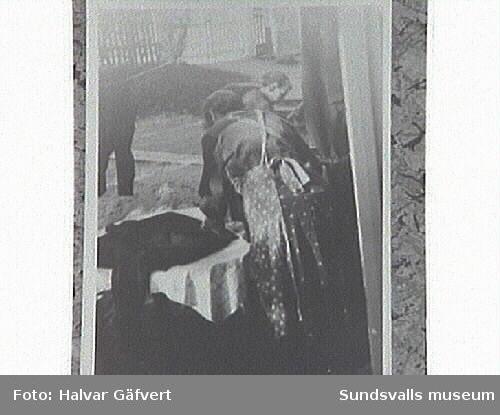 Klädrengöring inför hösten. Lilly, inneboende hosHildur Pettersson.