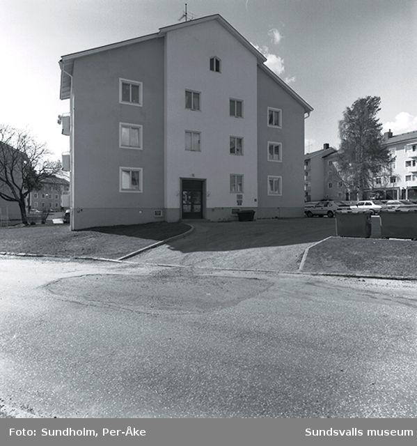 Inventering av 1940- och 50- talsområden. Bragegatan 15.