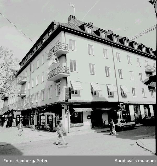 Kyrkogatan 16, O-bar. (Byggdes för Kooperativa förbundet)