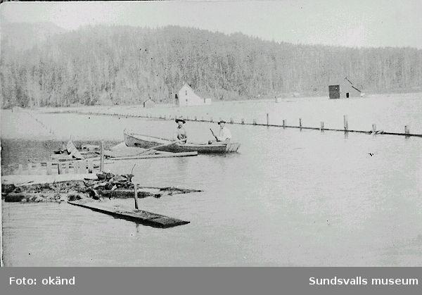Troligen fiskebåt i Njurundatrakten omkring 1900