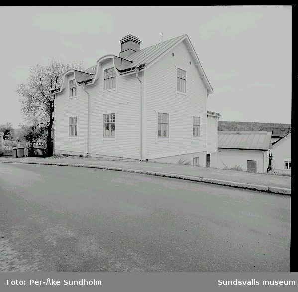 Bostadshus och uthus, kv. Lönnen 6, Södermalmsgatan 34.