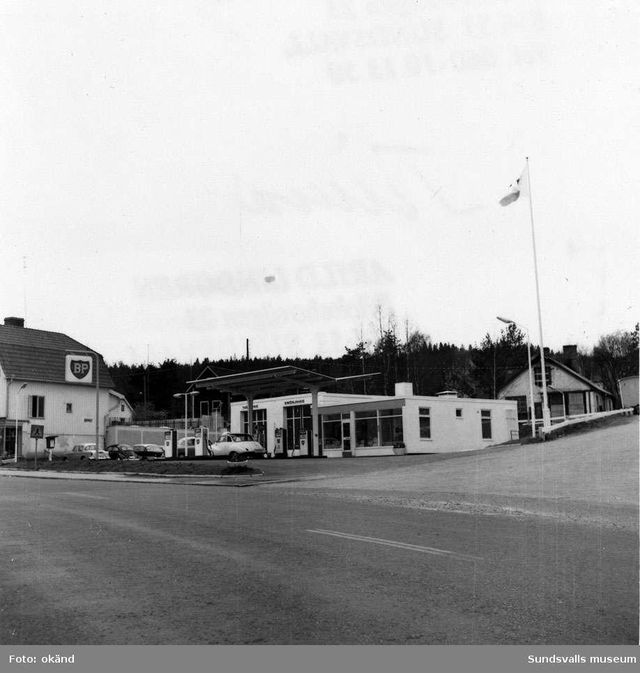 BP-stationen Vivsta, Timrå.