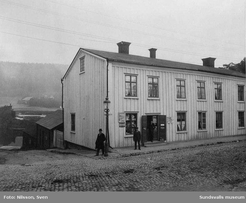 """Salanderska gården Storgatan , """"väst på stan"""""""