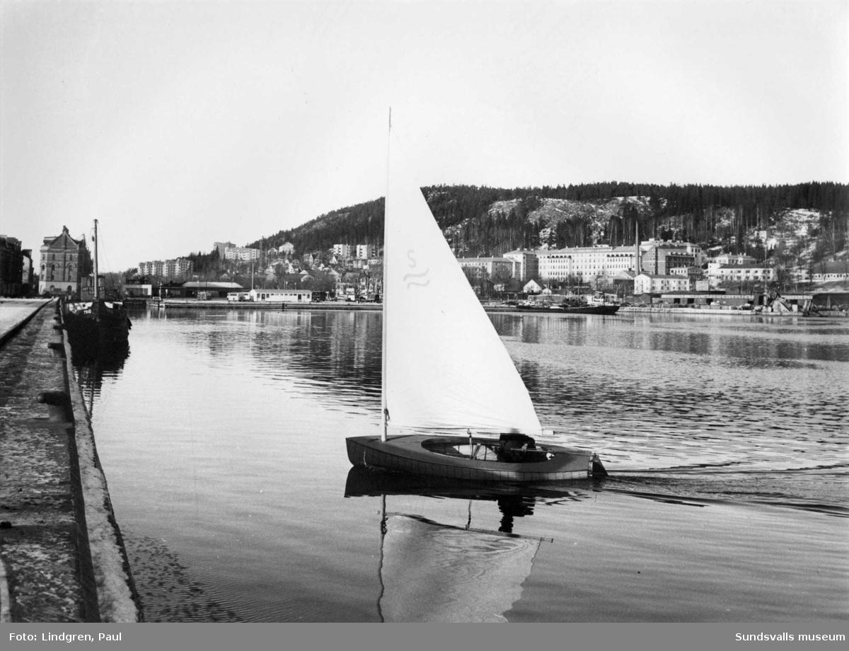 Segling på Sundsvallsfjärden.
