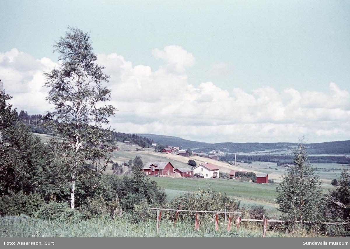 Sättnabygden från Byn.