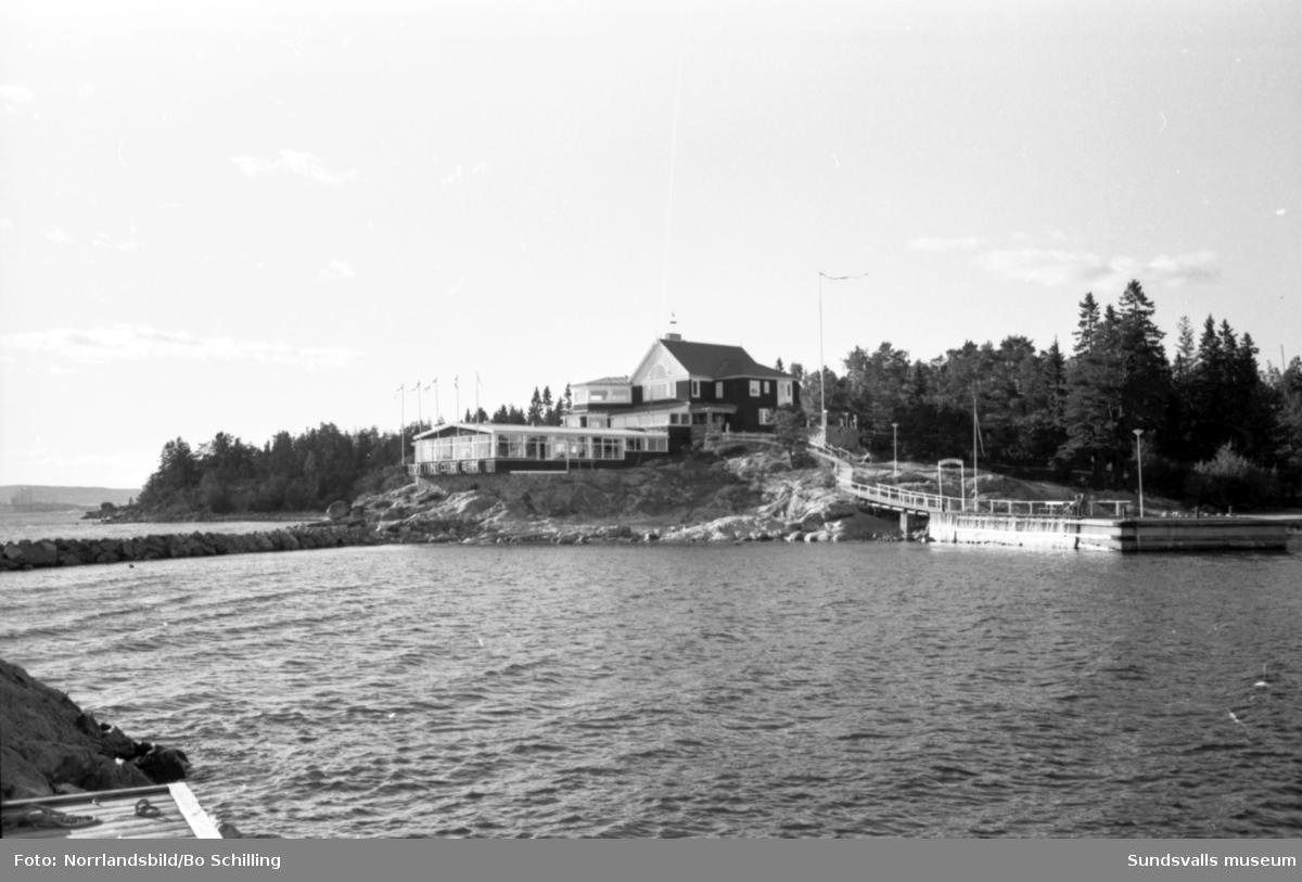 Restaurang Vindhem på Alnö.