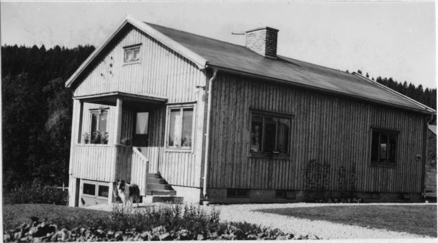 Härnösands postområde. Nyadal poststation, exteriör.