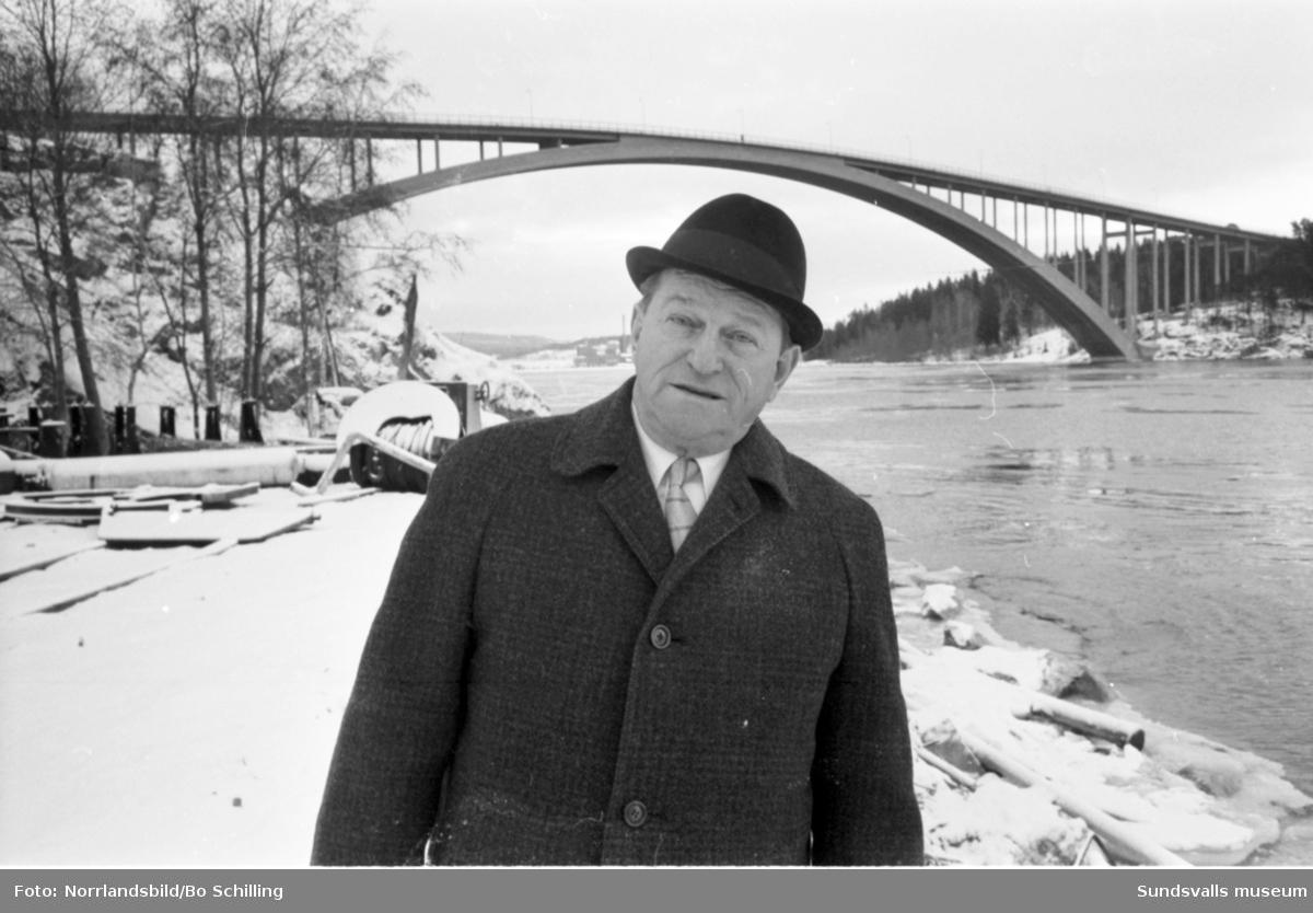 Pressbyrån, Sixten Olofsson, Sandöverken, ordförande i Sveriges Kioskhandlares Riksförening.