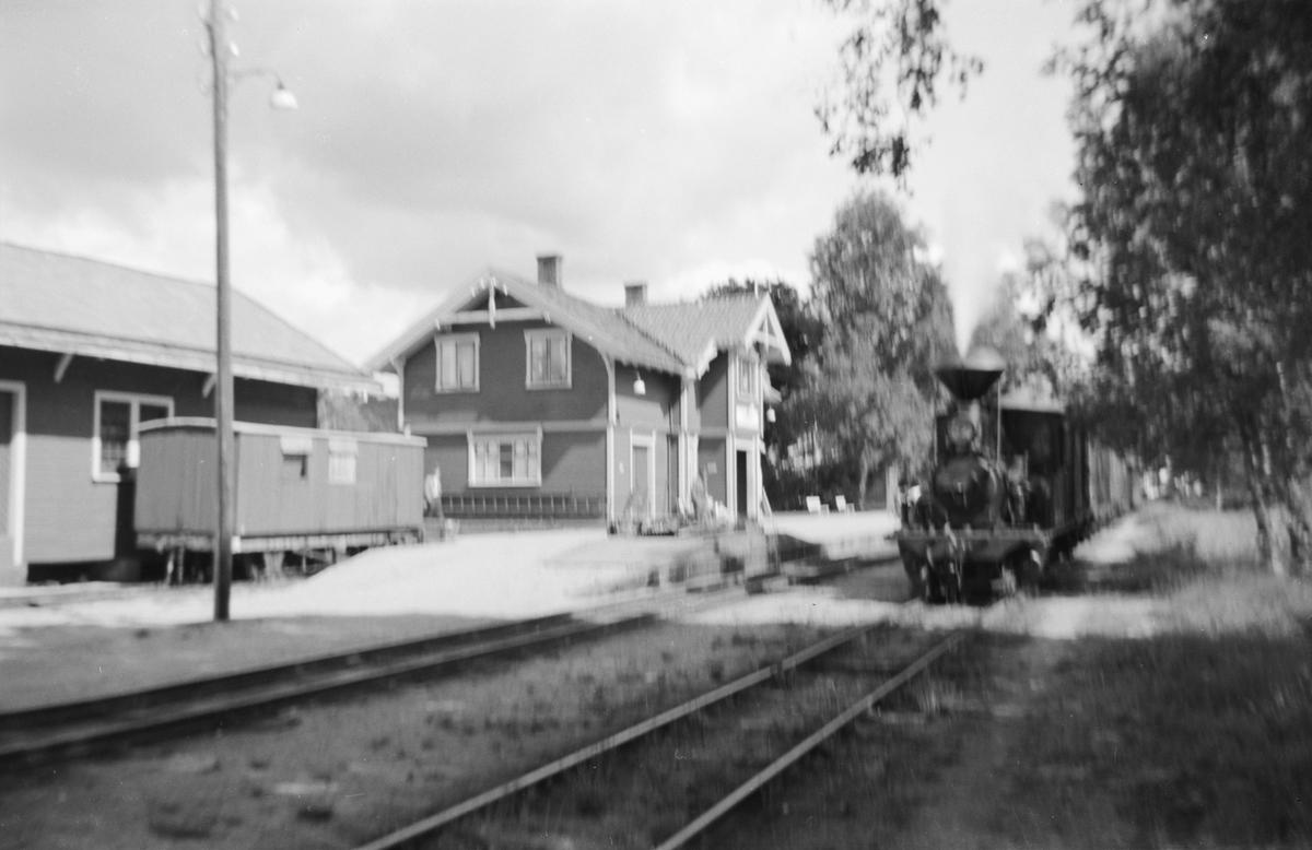 Hornnes stasjon på Setesdalsbanen