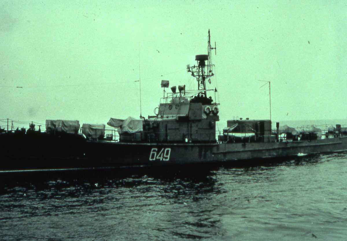 Russisk fartøy av SO 1 - klassen med nr. 649.