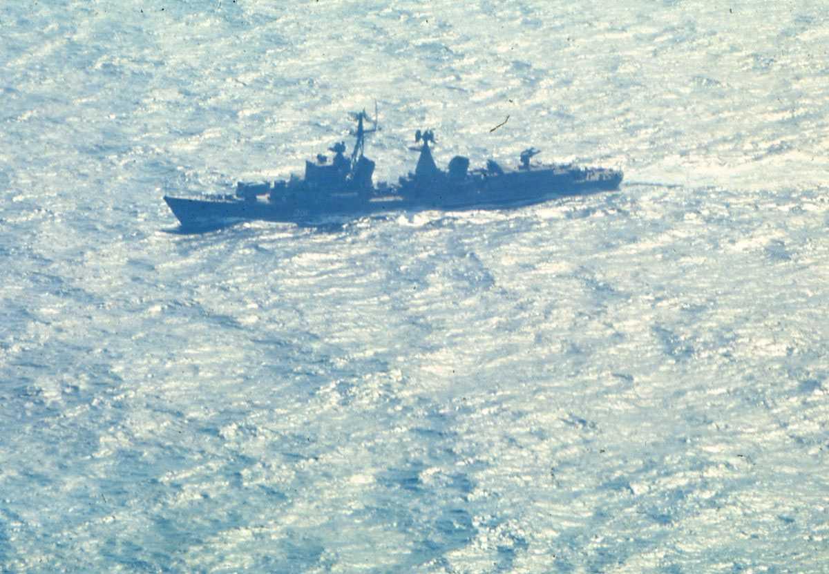 Russisk fartøy av Sam Kotlin - klassen.