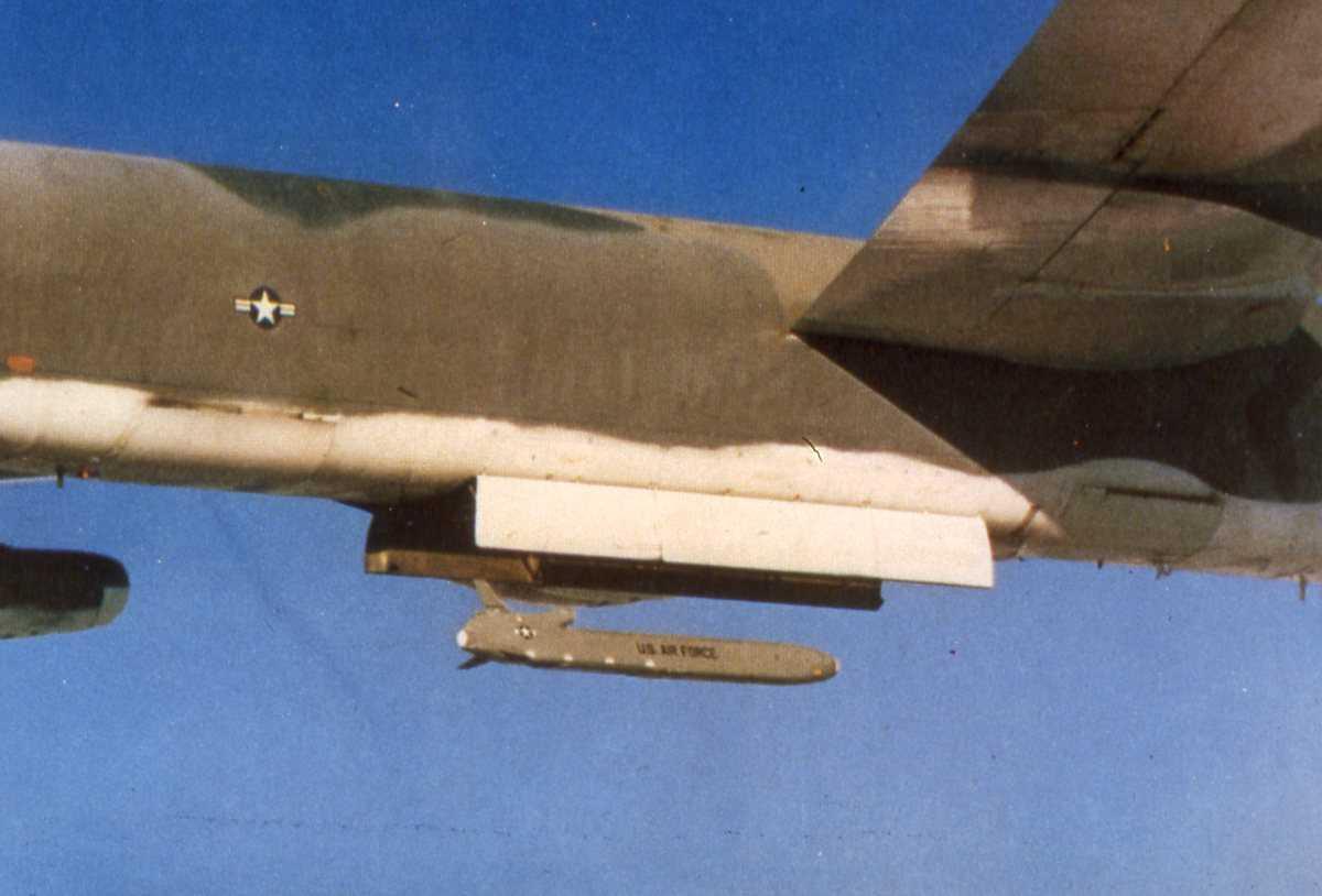 Amerikansk fly av typen B-52 Stratofortress.