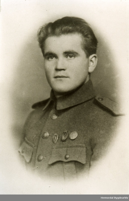 Herbrand Grøthe, fødd 1918. Mista livet i ei motorsykkelulukke i 1946