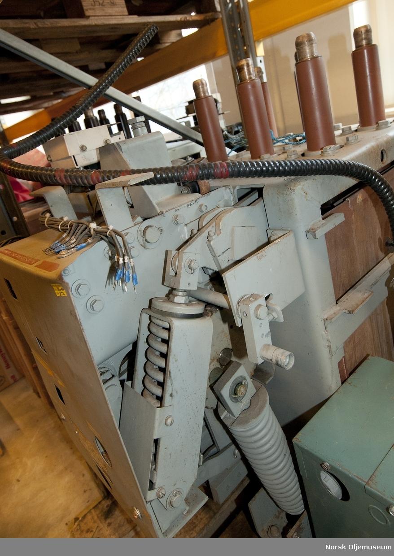 Transformator brukt til flombelysning på helidekk/HST.