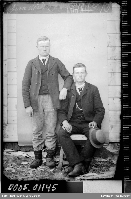 Portrett av to brødre.