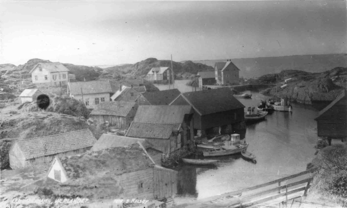 Værøyhavn, Værlandet
