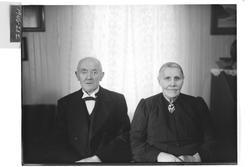 Ole Kjølen med kone