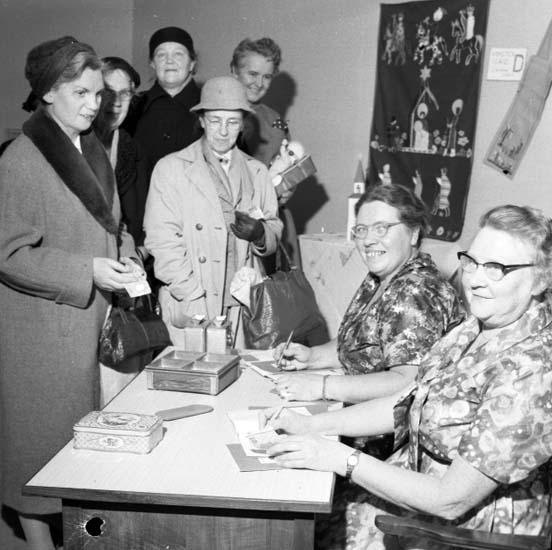 """""""Missionsföreningen Senapskornet 9 november 1959"""""""