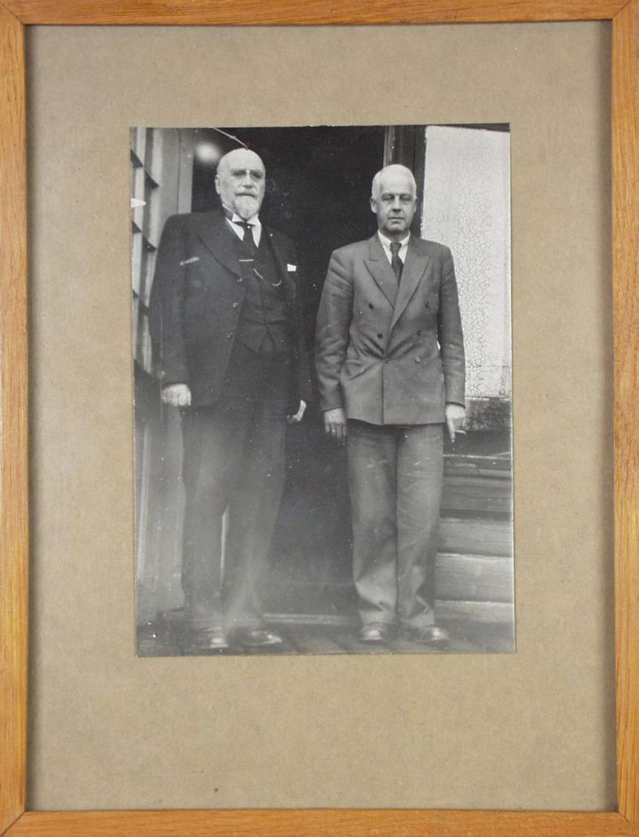Anders Sandvig og Sigurd Grieg.