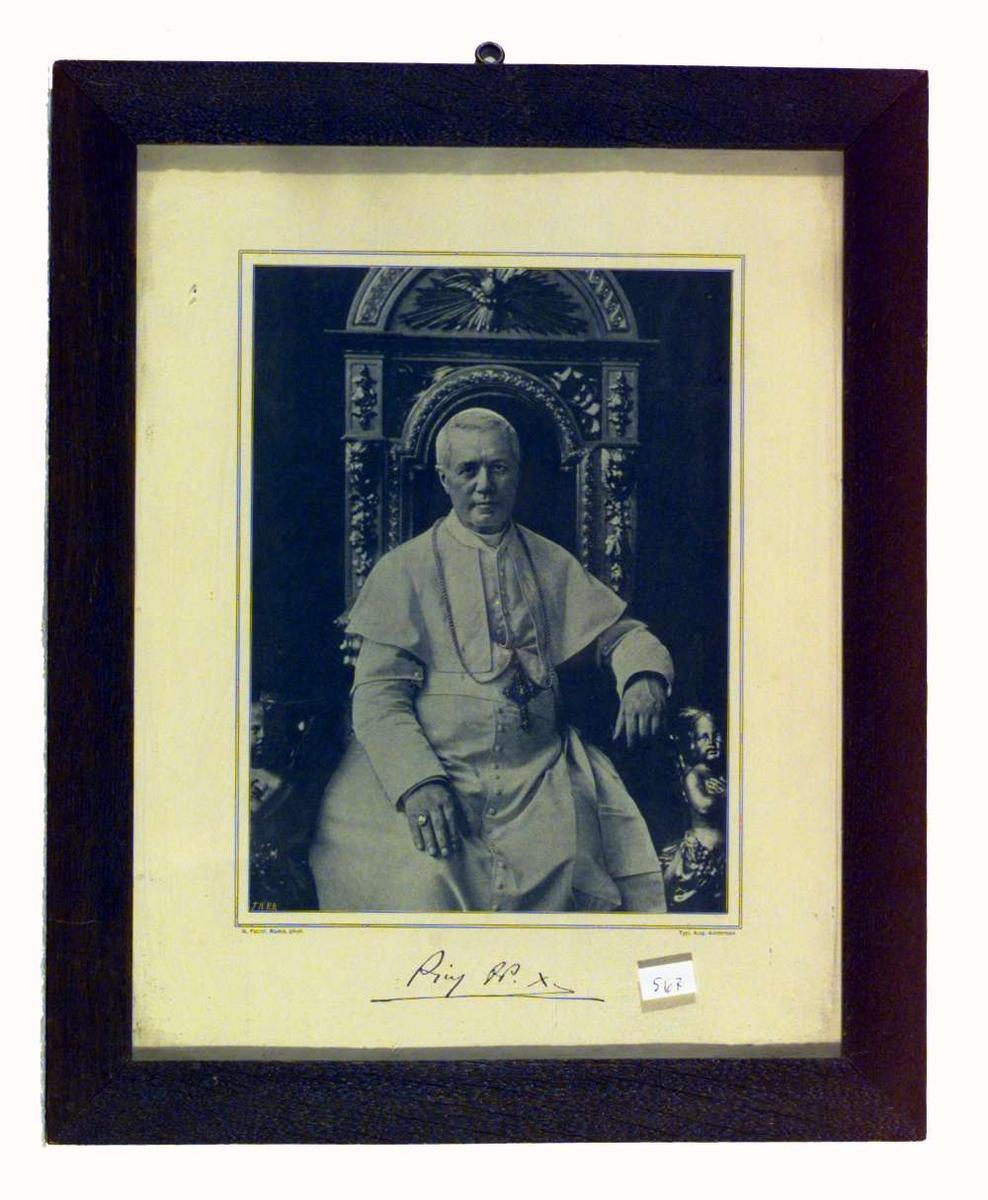 Portrett av pave Pius X (1835-1914)
