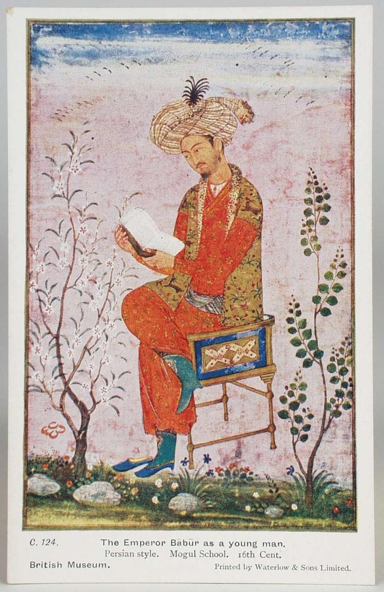 Persiske og indiske malerier