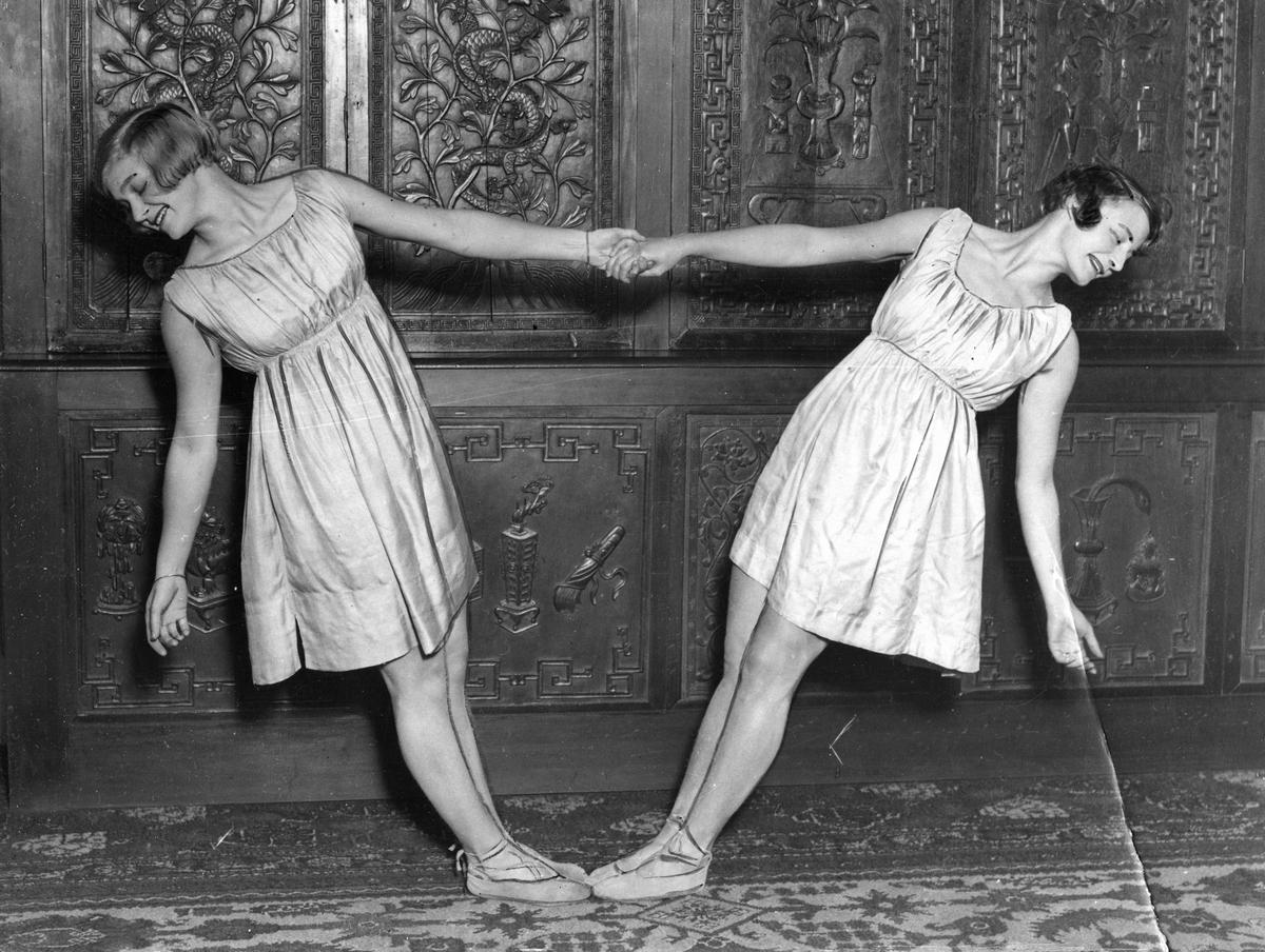 Kvinner, dansere, ukjent
