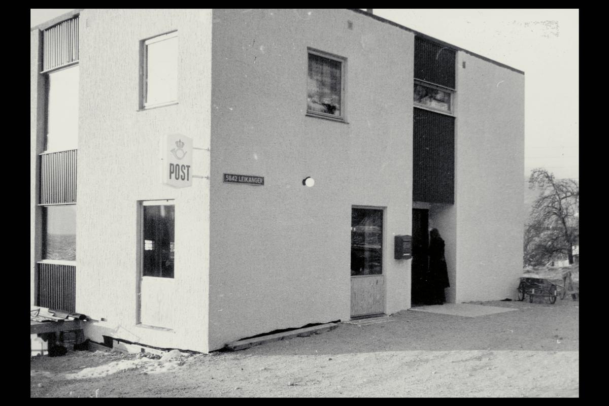 eksteriør, postkontor, 5842 Leikanger, postkasse