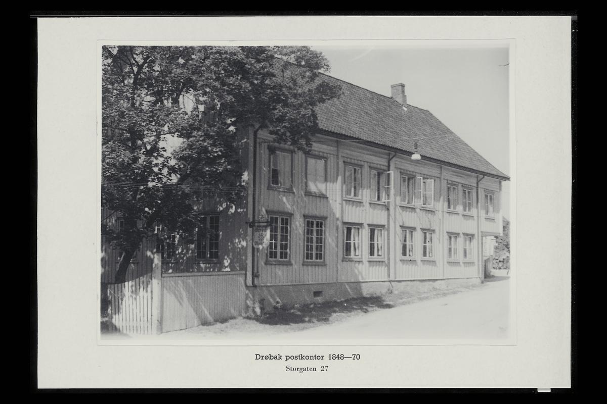eksteriør, postkontor, 1440 Drøbak