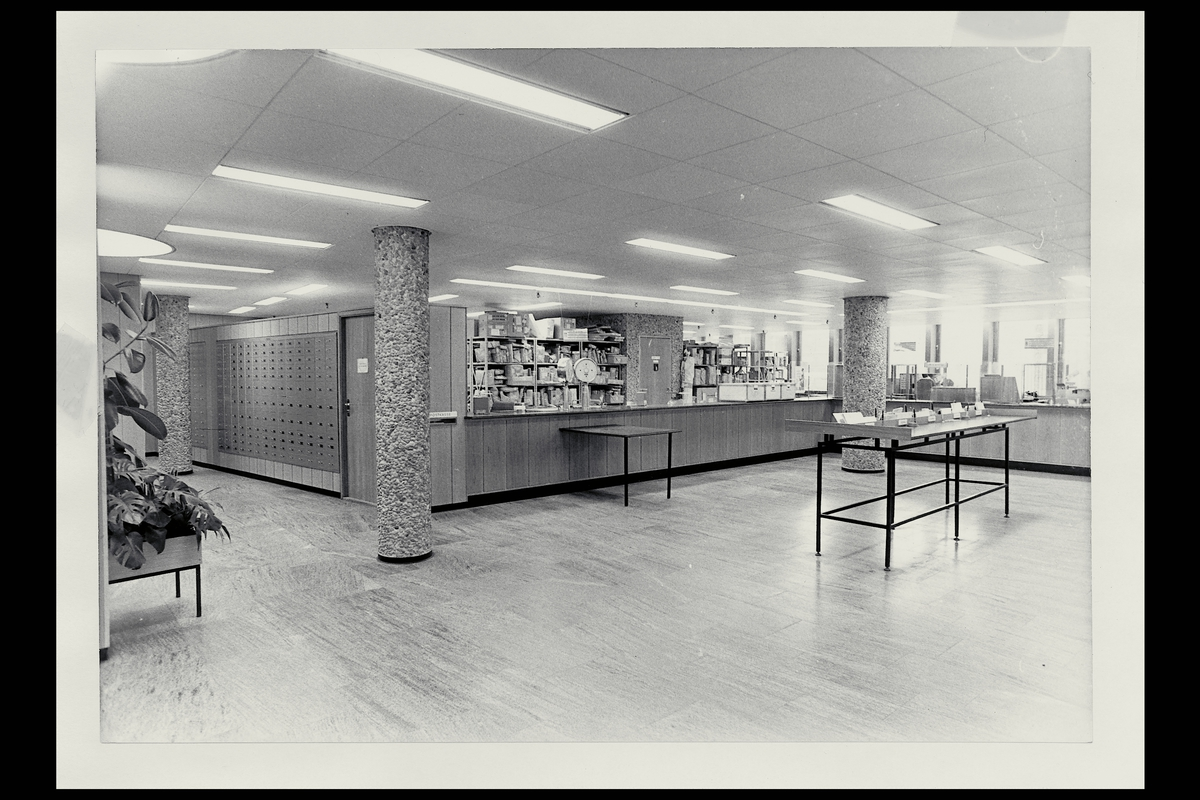 interiør, postkontor, 0129 Hammersborg, publikumshallen, vekt
