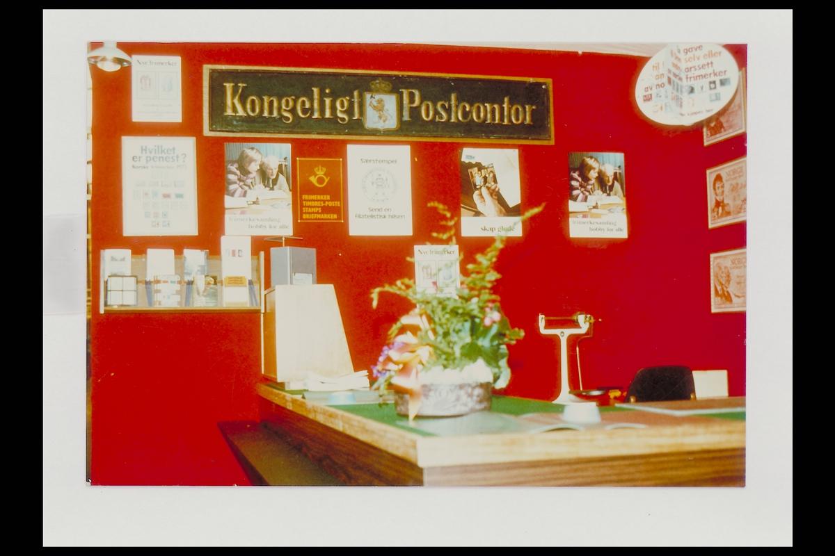 interiør, postkontor, 3600 Kongsberg, utstilling, postskilt, vekt