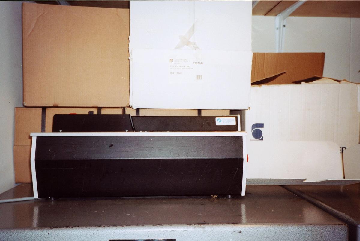 interiør, postkontor, 0137 Bekkelaget, frankeringsmaskin