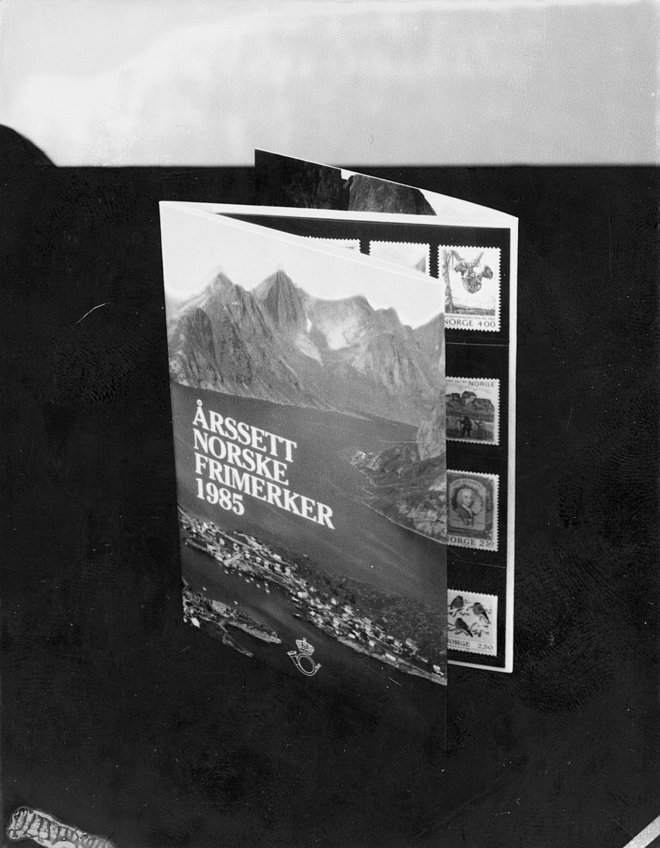 diverse, utstilling, årssett for frimerker 1985