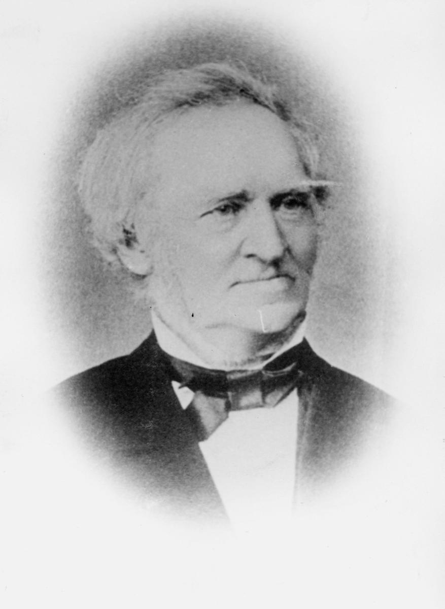 portrett, postmester, Bernhard Marcus Elias Nissen