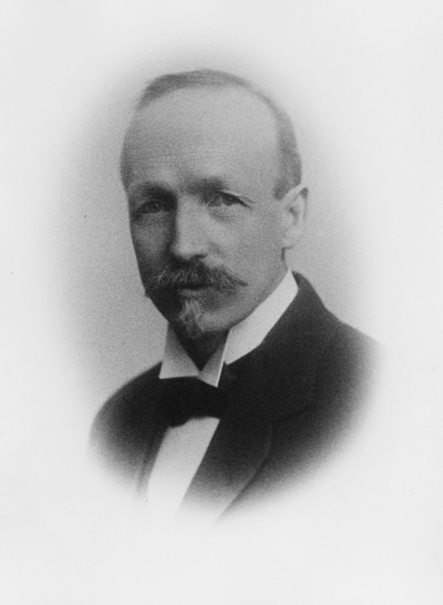 portrett, postmester, Karl Georg Schulerud